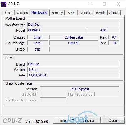 Dell G7 15 7588 CPUZ 02