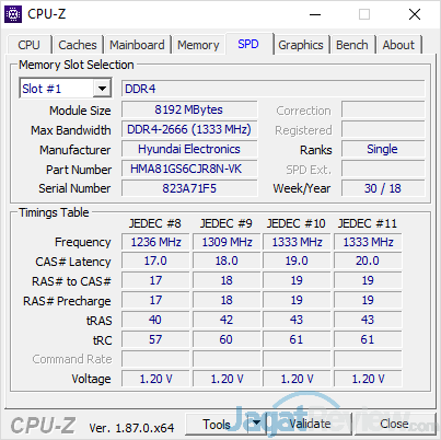Dell G7 15 7588 CPUZ 04