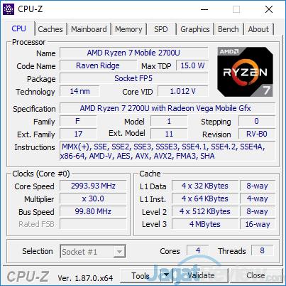ASUS VivoBook Pro F570Z CPUZ 01