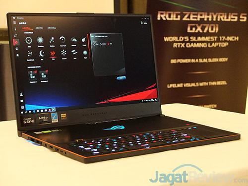 ASUS VivoBook Pro F570Z ASUS Zephyrus S GX701
