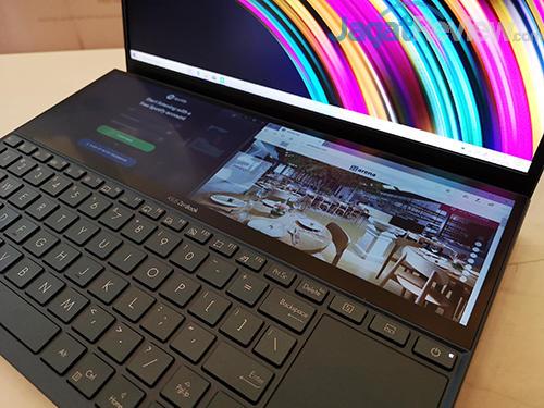 ASUS ZenBook Duo ScreenPad