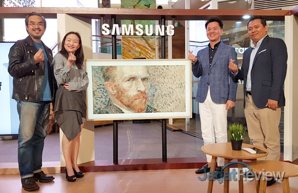 Samsung the frame and serif