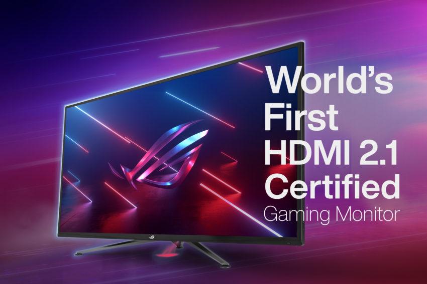 monitor gaming ASUS HDMI 2.1