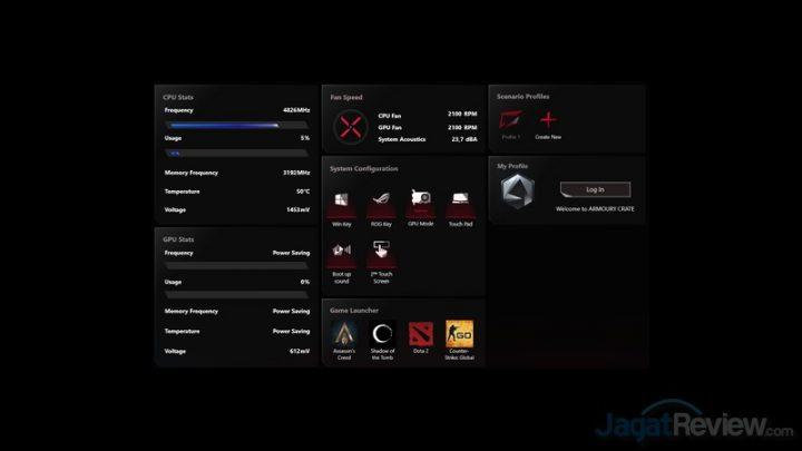 Armoury Crate GPU Mode