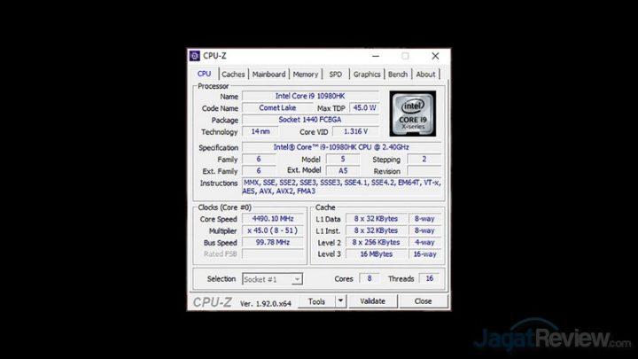 CPUZ CPU edit