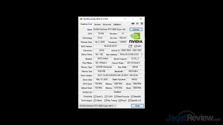 GPUZ NVIDIA NON TURBO MODE edit