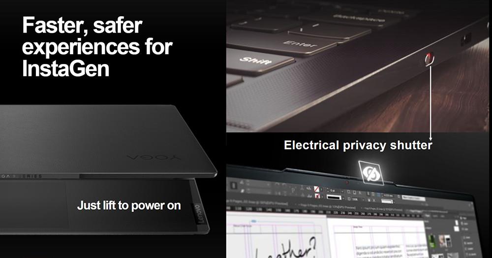 Lenovo Yoga Slim 9i Privacy Shutter
