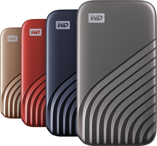 WD MyPassport SSD All Colors