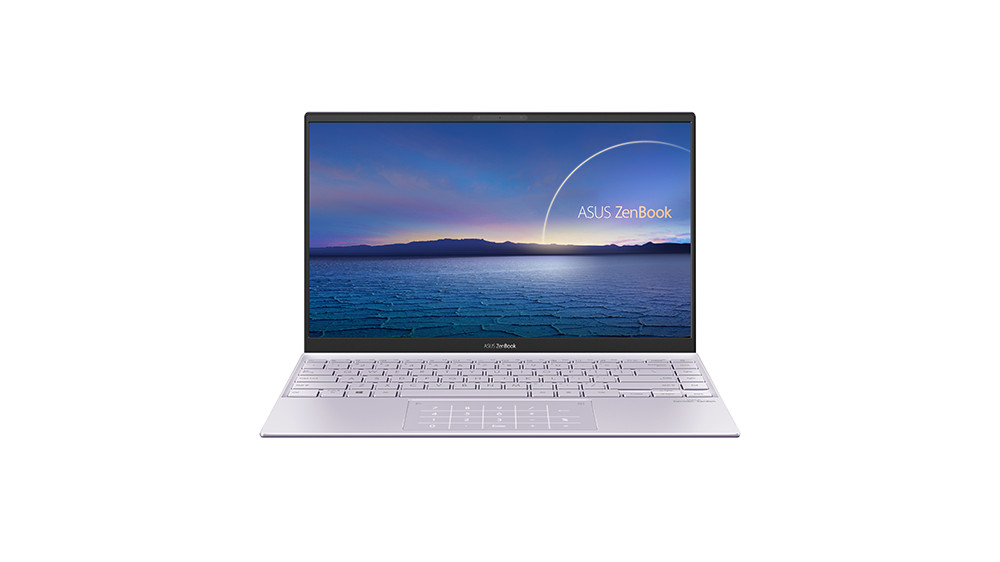 ZenBook 14 UX425 ICL Product photo 2P Lilac Mist 05 NumberPad