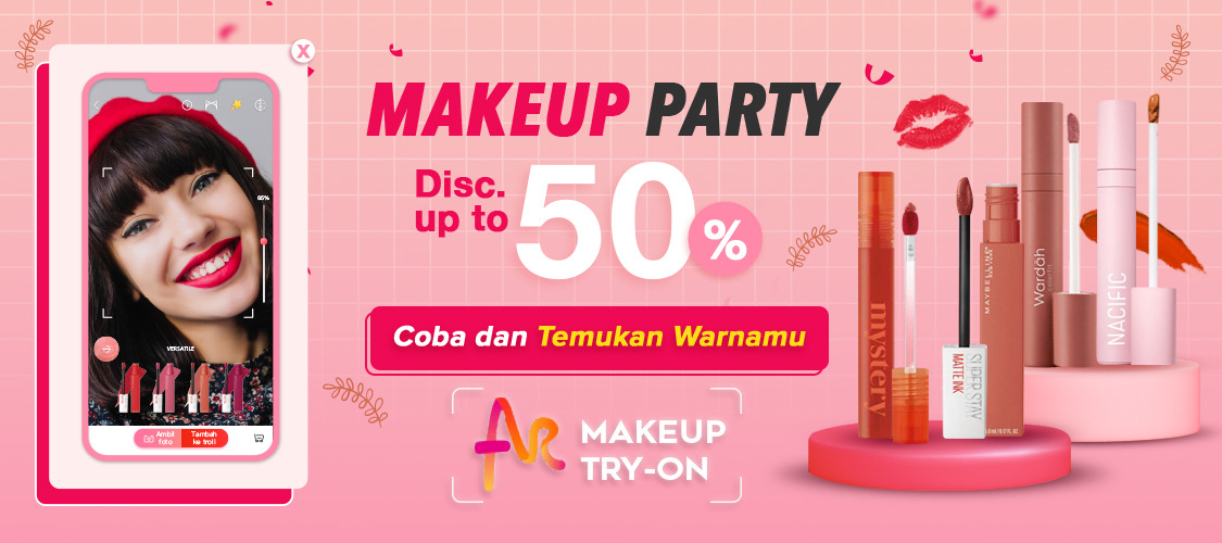 JD.ID AR Make Up Try On