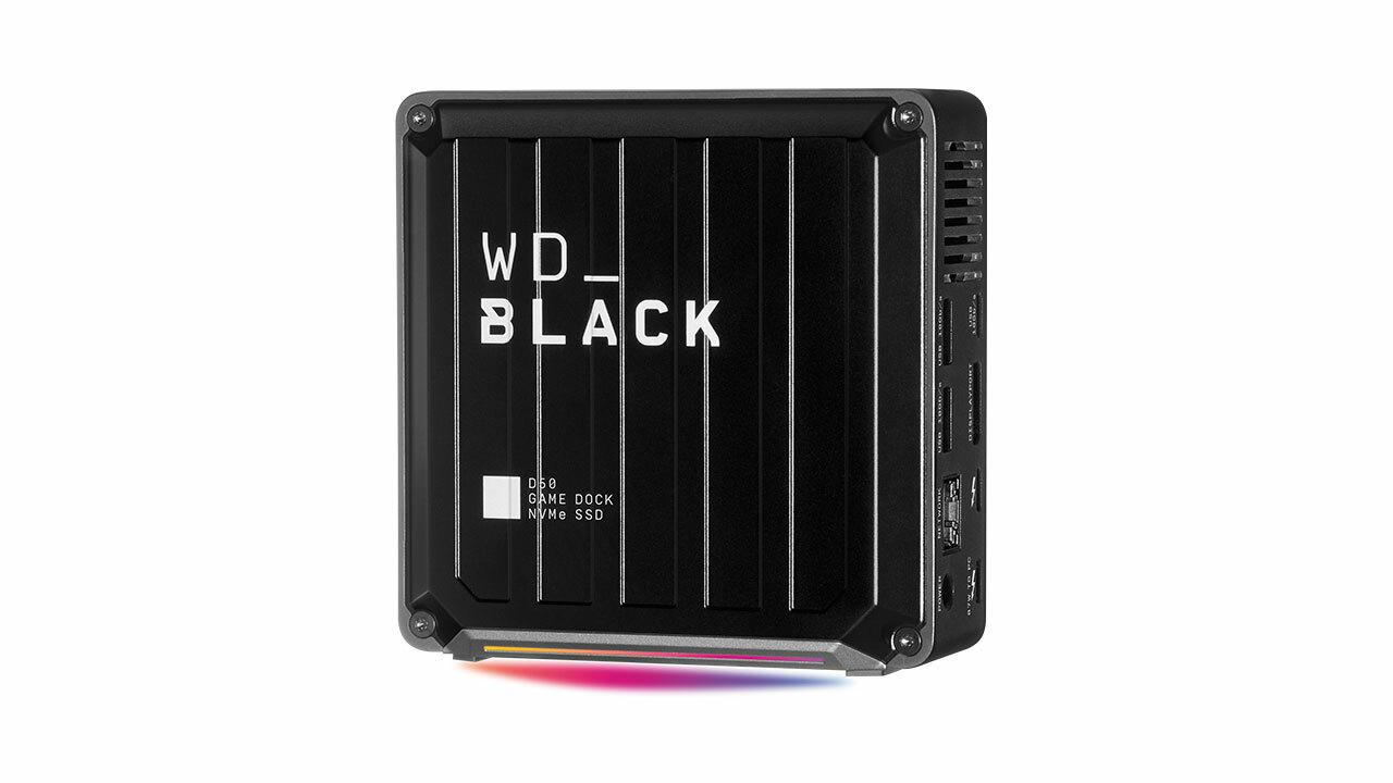WD Black Game dock