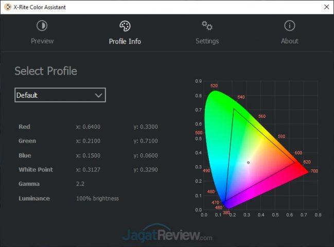 X Rite Color Assistant Default