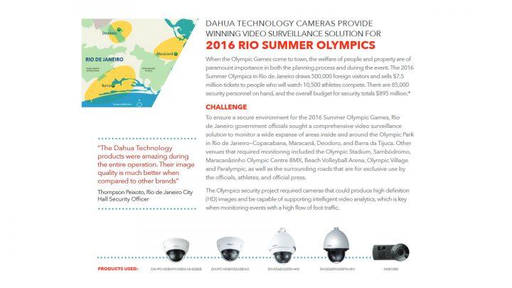 Dahua Rio 2016