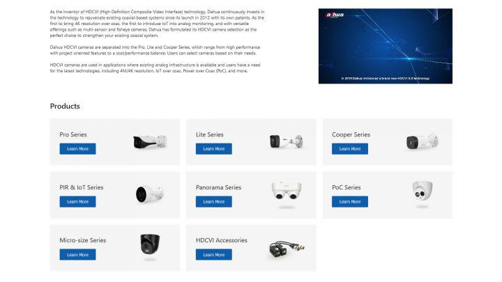 HDCVI Cameras