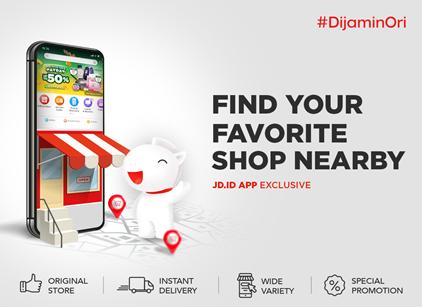JD.ID Nearby Shops