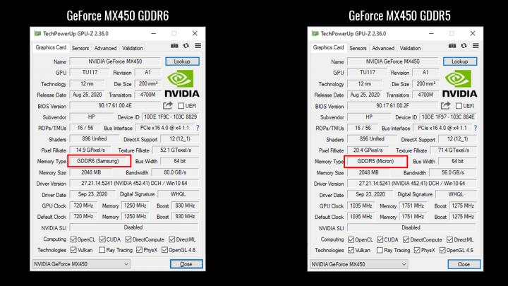 GDDR6 vs GDDR5