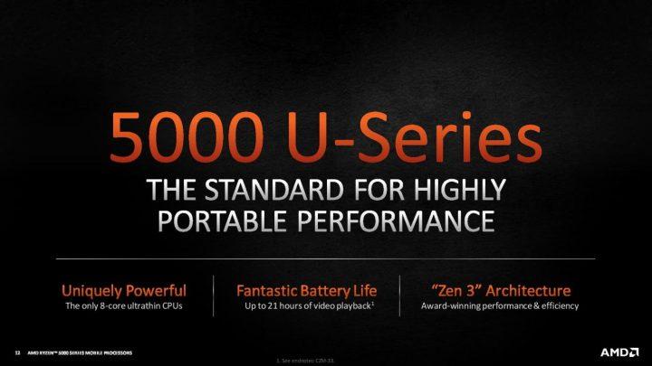 AMD Ryzen 5000 Mobile series