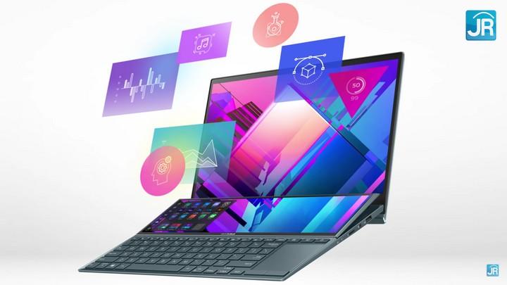 review Zenbook Duo 14 UX482
