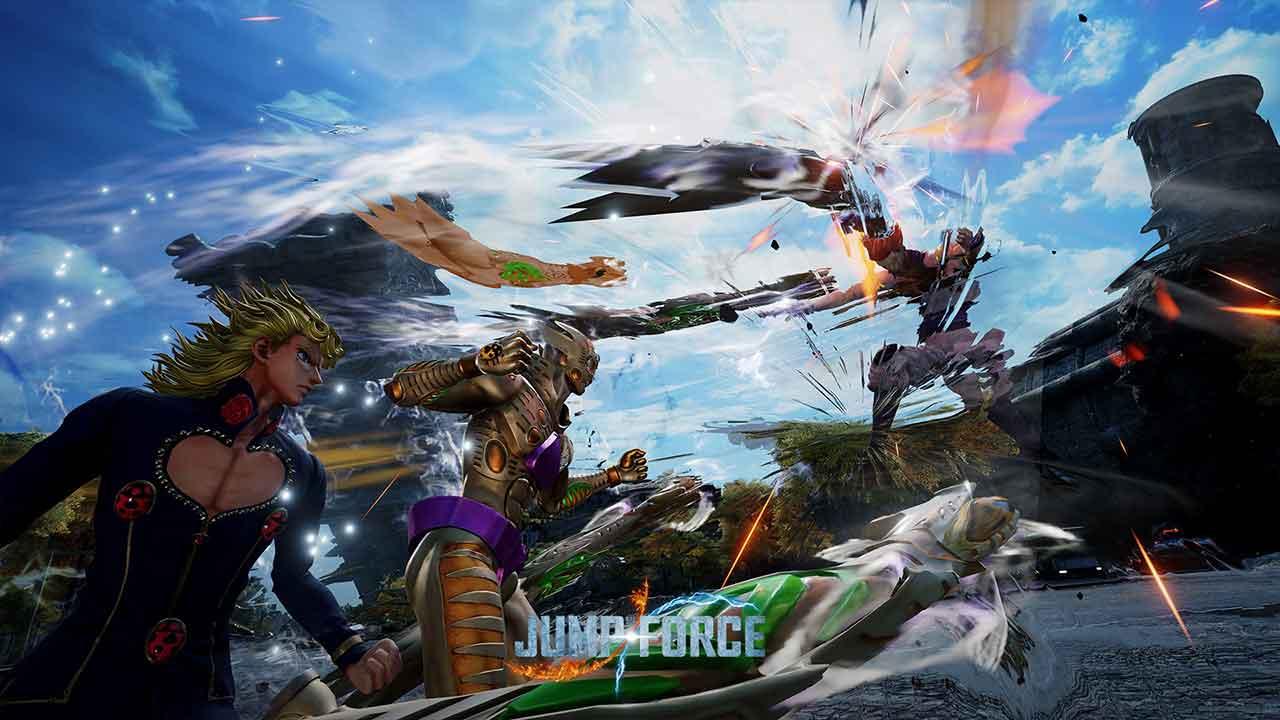 jump force giorno1