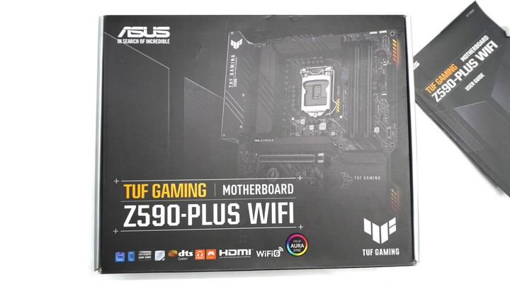 Review Motherboard ASUS TUF Gaming Z590 PLUS WIFI