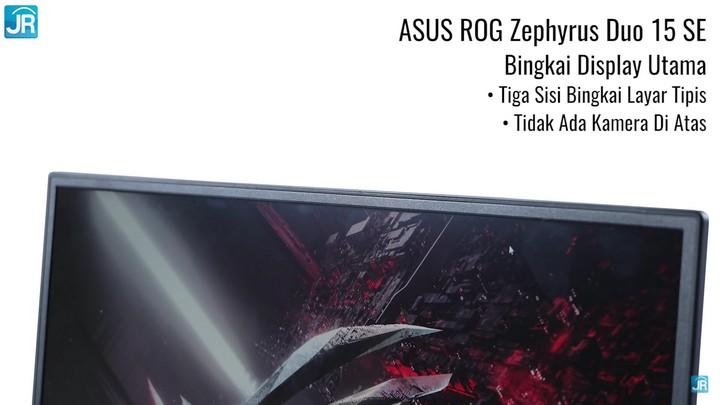 Review ASUS ROG Zephyrus Duo 15 SE (GX551QM)