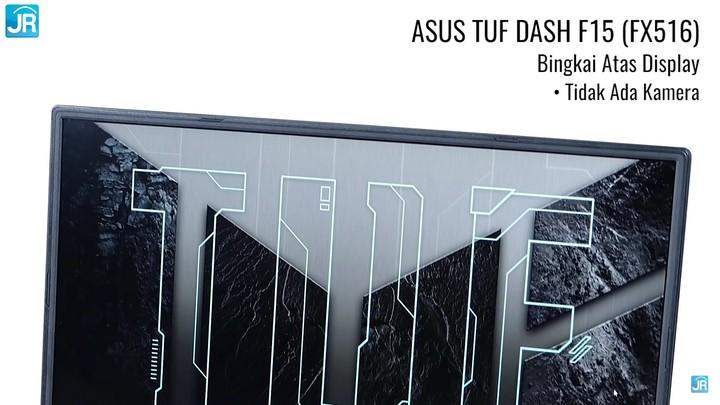 Review ASUS TUF Gaming Dash F15