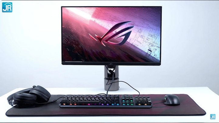 Review Monitor ASUS ROG PG259QNR + Gaming Gear ROG