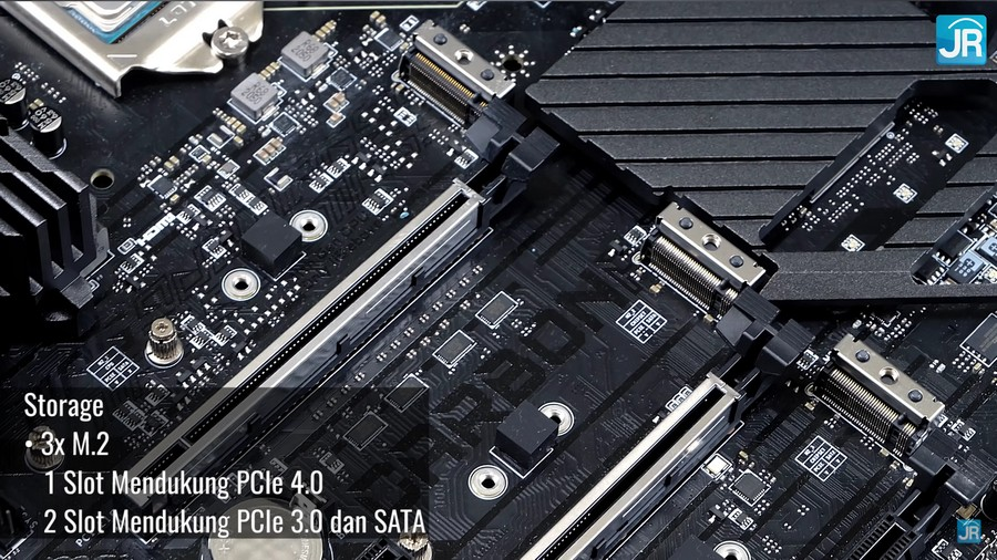 Review Motherboard MSI MPG Z590 Gaming Carbon WiFi