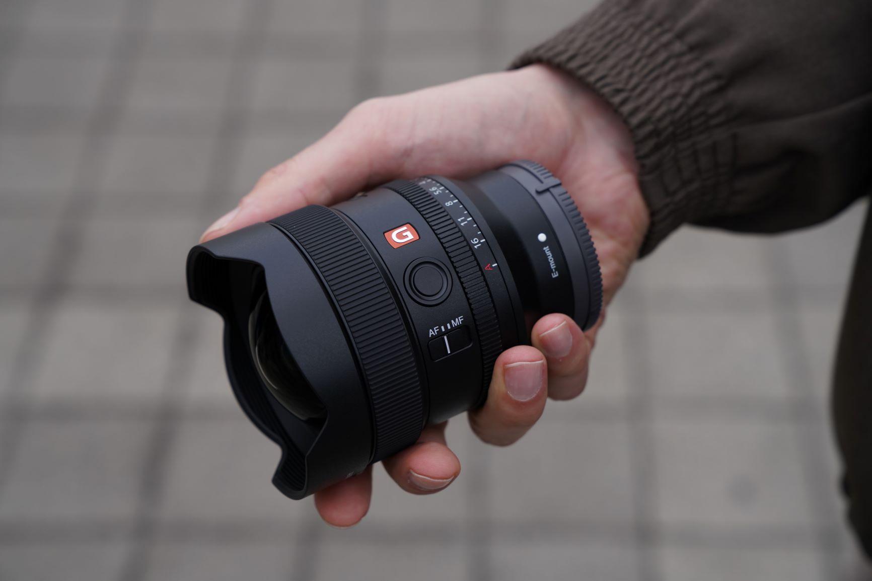 Lensa Sony FE 14mm F1.8 GM