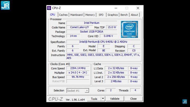 Review HP 14s-cf2508TU (