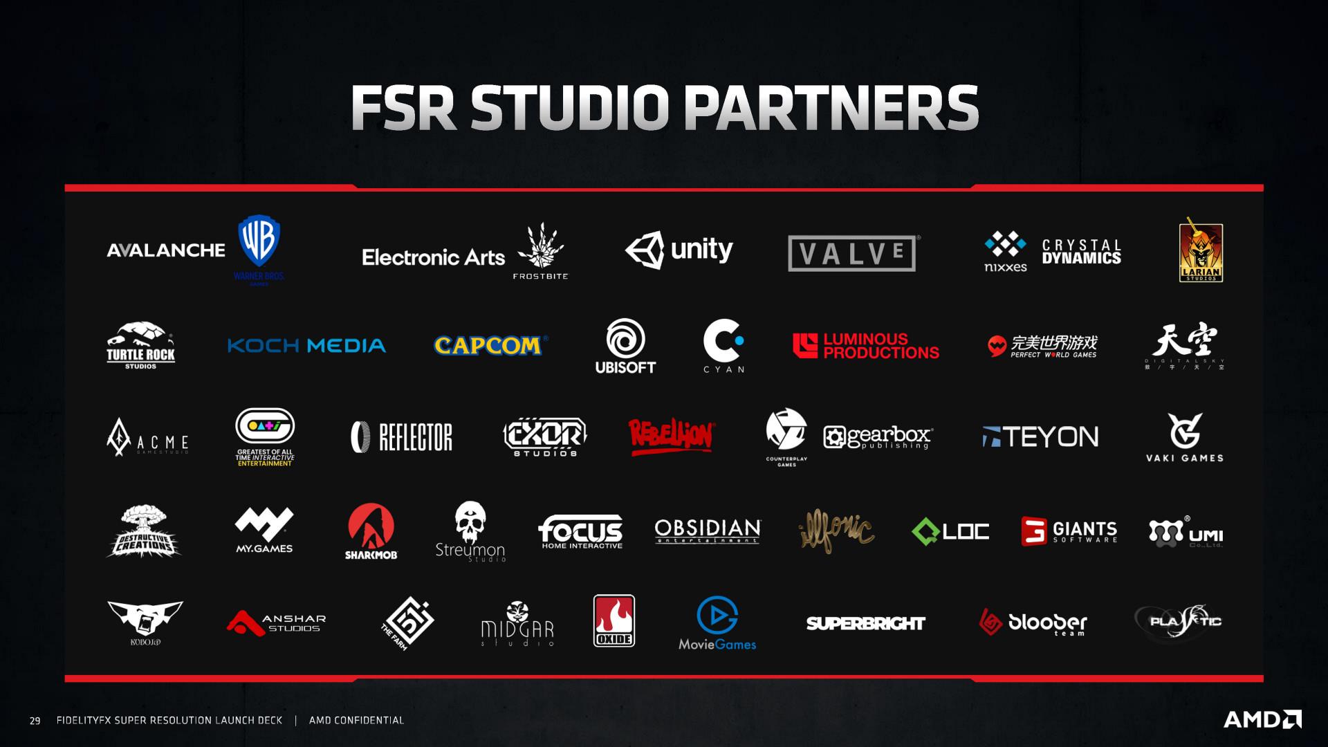 AMD FSR Launch Slides Page 29