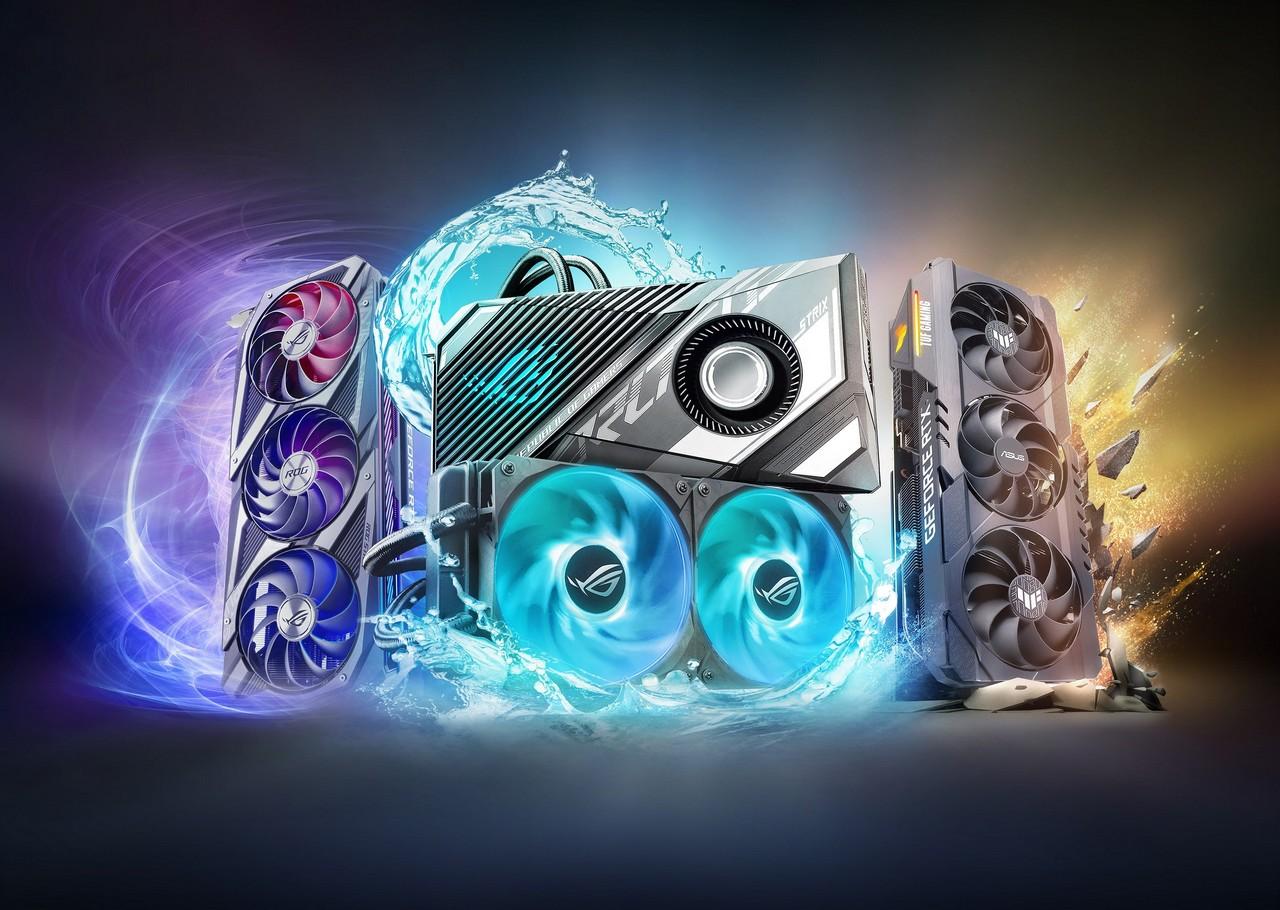 ASUS GeForce RTX 3080Ti dan RTX 3070Ti