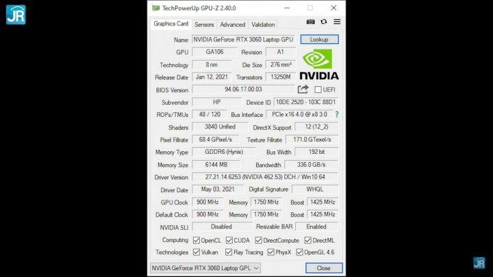 Review OMEN By HP 15-en1029AX