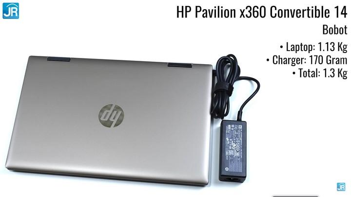 Review HP Pavilion x360 Convertible 14