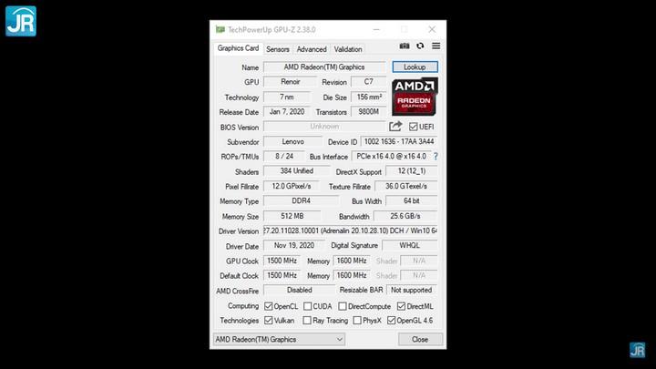Review Lenovo Ideapad Gaming 3 N1ID14