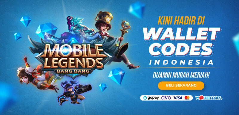 Wallet Codes Mobile Legend Bang bang