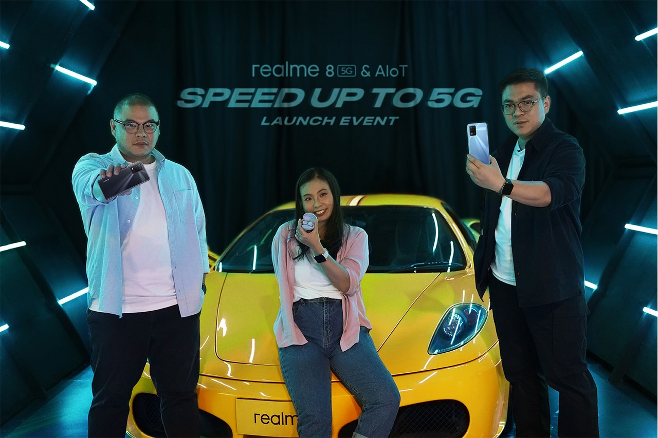 realme 8 5G and AIoT Speed Up to 5G Launch
