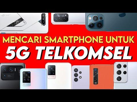 smartphone 5G telkomsel