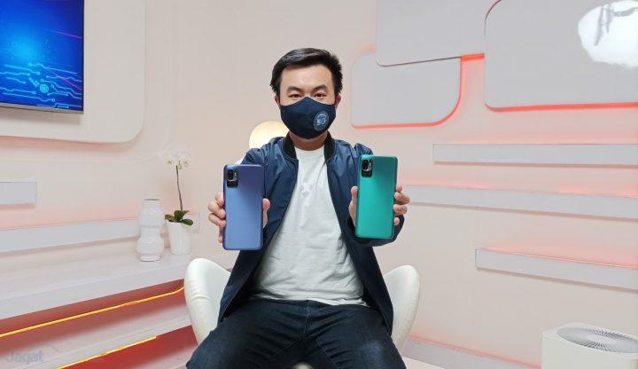 Alvin Tse dengan Redmi Note 10 5G 2
