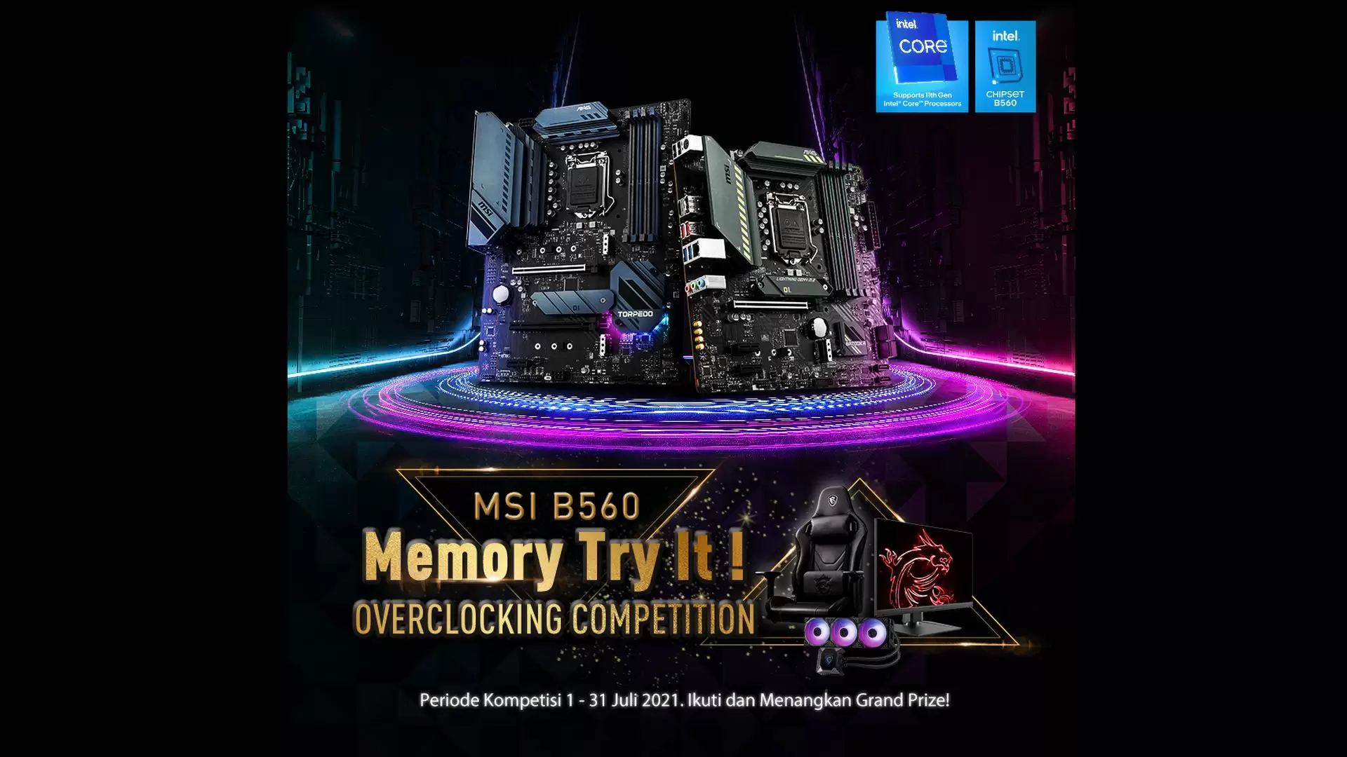 MSI B560 Competition