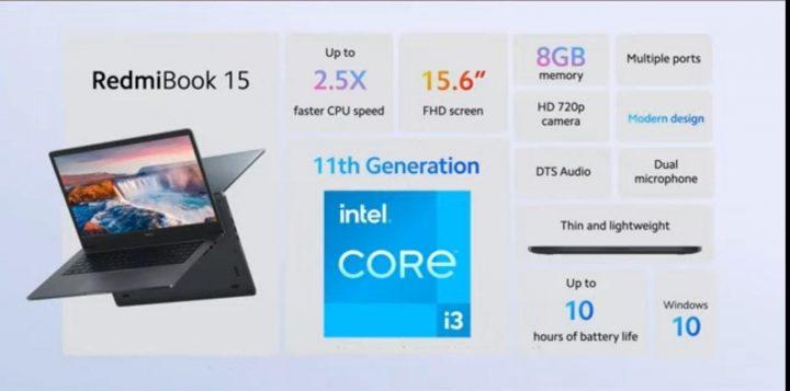 Spesifikasi dan harga RedmiBook 15 Indonesia