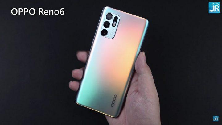 Review Oppo reno6 1