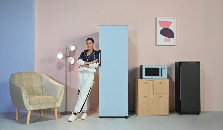 Samsung BeSpoke refigerator dan Microwave