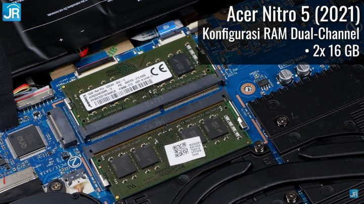 Review NVIDIA Geforce RTX 3050 Series di Acer Nitro 5 2021