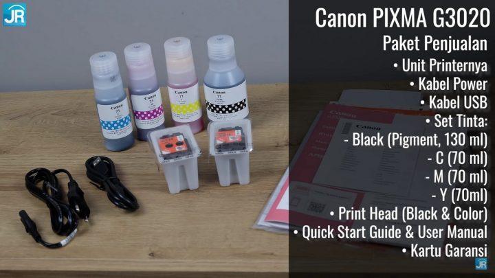 Review Printer Canon Pixma 3020