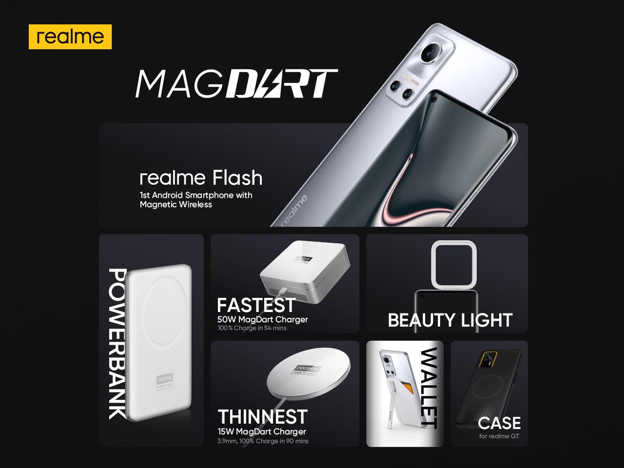realme MagDart Fast Charging