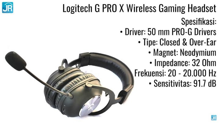 review Logitech G Pro X wireless gaming headphone