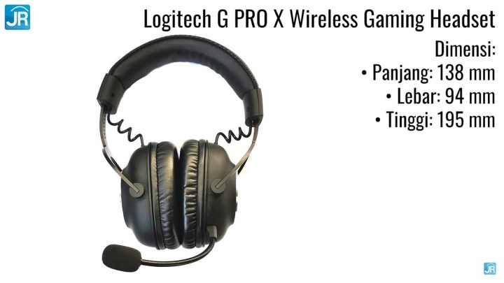 review Logitech G Pro X wireless gaming headphone (5)