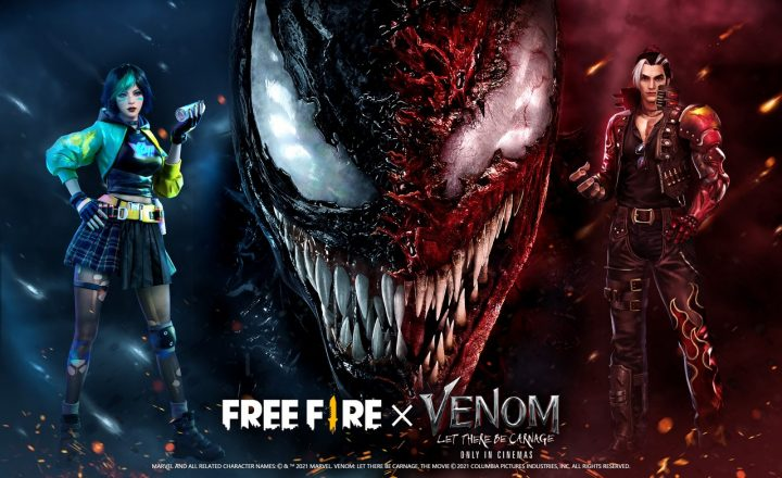 Garena Free Fire x Venom Let There Be Carnage