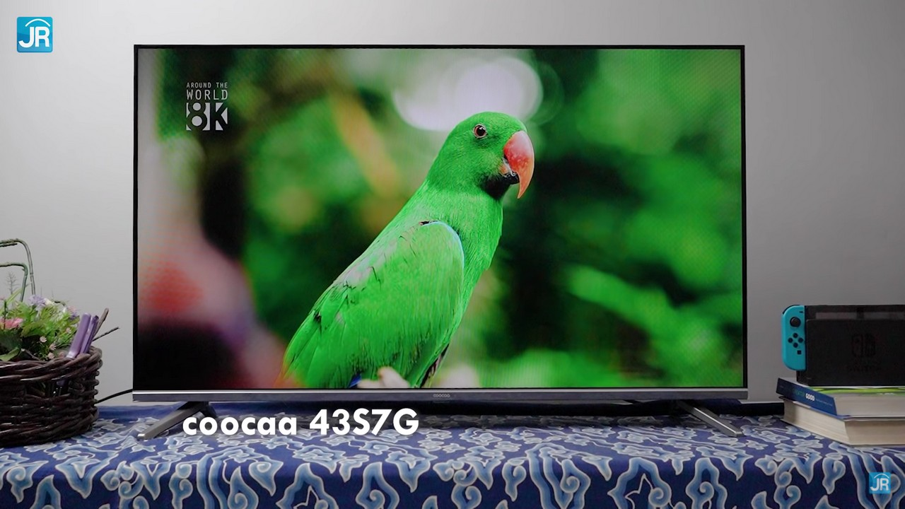 Review Coocaa 43S7G